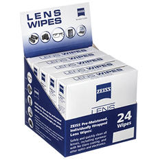 ZEISS Pre-Moistened Individuall Wrapped Lens Wipes (360 ct.)