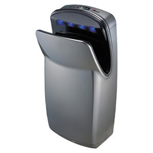 World Dryer VMax High-Impact ABS Hand Dryer, Silver