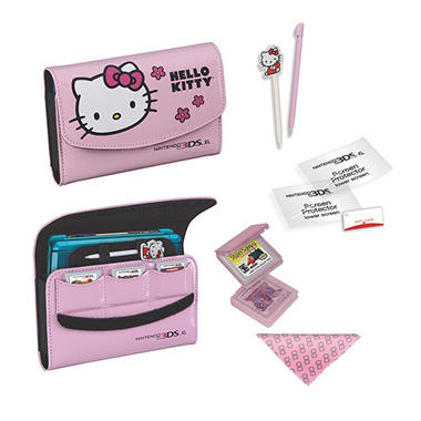 RDS Hello Kitty Travel Kit for the 3DS XL & 3DS - Various Colors