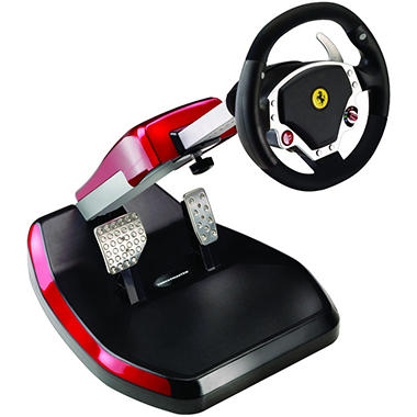 Thrustmaster Ferrari� Wireless GT F430 Scuderia Edition Cockpit for the PS3 or PC