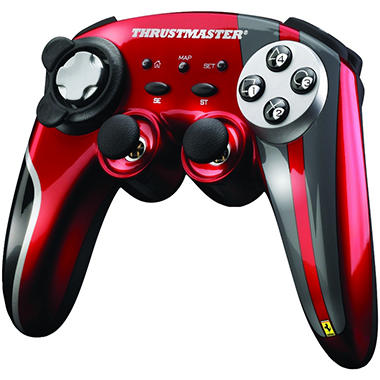 Ferrari Wireless Gamepad 430 Scuderia Limited Edition for the PS3 or PC
