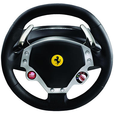 Ferrari F430 Force Feedback Racing Wheel for the PS3 or PC