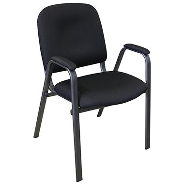Commerical Quality Guest Chair - Black