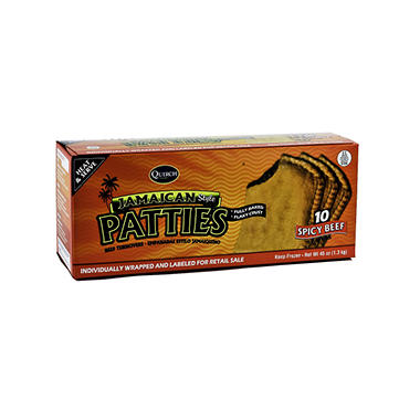 Quirch Foods Jamaican Patties Spicy Beef - 8/45 oz.