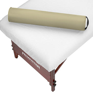 "Massage Table Round Bolster - 6"" - Cream"