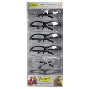 High Performance Safety Glasses - Clear - 6 ct.