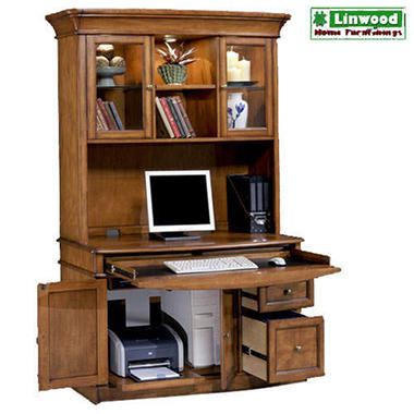 Miami 48 Computer Desk And Hutch Sam 39 S Club