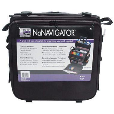 NaNavigator Rolling Tote - Black
