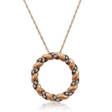 0.38 ct. t.w. Diamond Circle Pendant