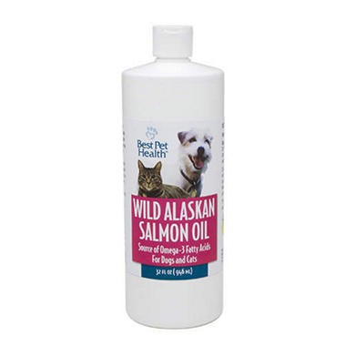 D - Best Pet Health Wild Alaskan Salmon Oil - 32 oz.