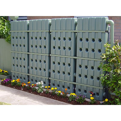Oziflow 58 Gallon Slimline Rainwater Tank