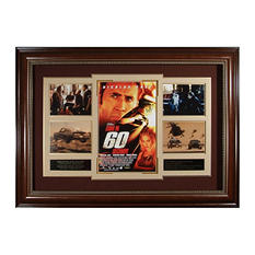 """Gone in 60 Seconds"" Cast-Autographed Movie Poster"