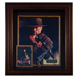 """Unforgiven"" Clint Eastwood Autographed Movie Display"