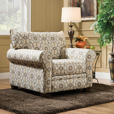 Bravo Oversized Accent Chair
