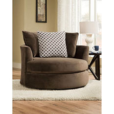 Keesling Round Swivel Chair