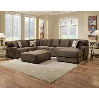 Member 39 S Mark Brooke 39 S Collection 3 Piece Sectional Sofa Sam 39 S Club