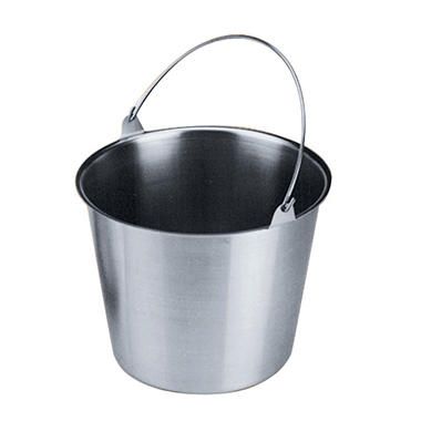 Artisan Metal Works Stainless Steel Utility Pail - Various Sizes