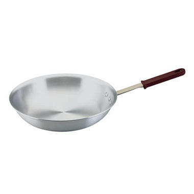 Artisan Metal Works™ Aluminum Fry Pan - Natural - Various Sizes