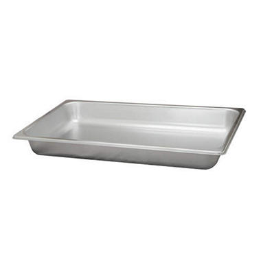 Bakers and Chefs Full Size Steam Table Pans - 2 pk.