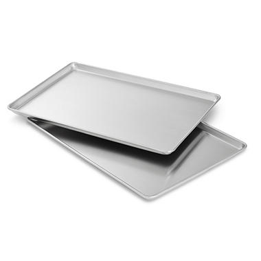 Bakers and Chefs Half Size Aluminum Sheet Pan - 2 pack