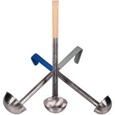 Bakers & Chefs - Color Coded Stainless Steel Ladles - 3 pk.