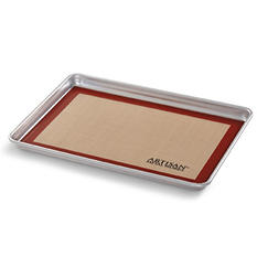 "Artisan Metal Works Half Sheet Pan with Silicone Mat (18"" x 13"" x 1)"