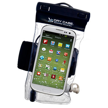 DryCASE Waterproof Clear Case for Phone, Camera, and Music Player