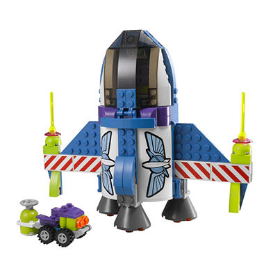 Lego Toy Story Buzz's Star Command Ship #7593