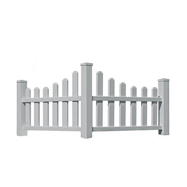 Ashley's Arbors Vinyl Country Corner Picket