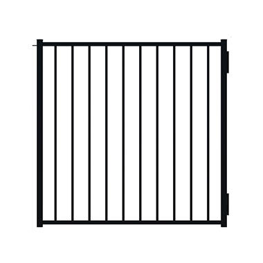 Chatty Cathy Black Ornamental Aluminum Gate - 48