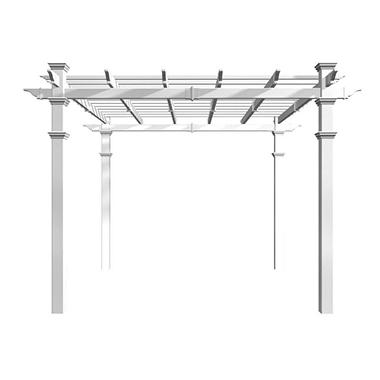 The Hillcrest Pergola - 10' x 10'