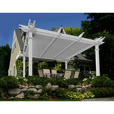 Camelot Louvered Pergola