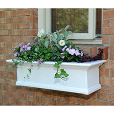 Yorkdale 3' Window Box - White