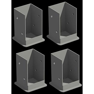 Pergola Deck/Patio Mounting Kit - 4 pc.