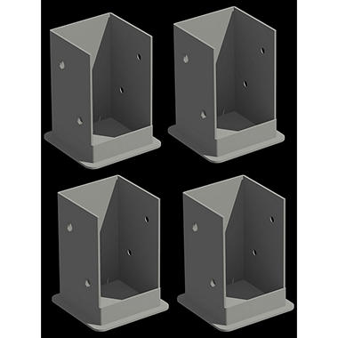 Pergola Deck/Patio Mounting Kit - 4 pc.