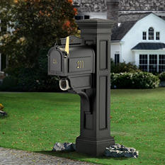 Liberty Mail Post - Black