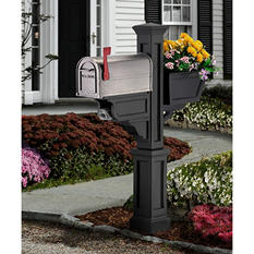 Signature Plus Mail Post - Black