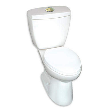 Alexis high efficiency dual flush toilet in a box sam 39 s club for Quality craft alexis toilet parts