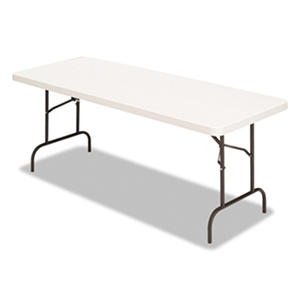 Alera Banquet Folding Table, Platinum/Charcoal (Select Size)
