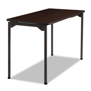 Iceberg Maxx Legroom Series Folding Table - Walnut