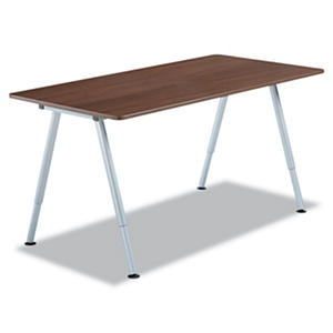 "Iceberg OfficeWorks 68"" Freestyle Table Top, Walnut"