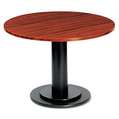 "Iceberg OfficeWorks 48"" Round Conference Table Top, Mahogany"