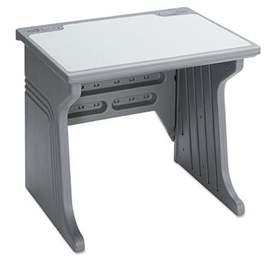 Aspira Modular Workstation Table - Charcoal