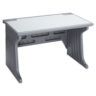 Iceberg - Aspira Modular Desk - Resin - Charcoal