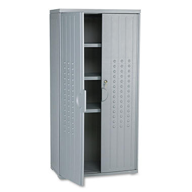 Iceberg - OfficeWorks Resin Storage Cabinet, 18