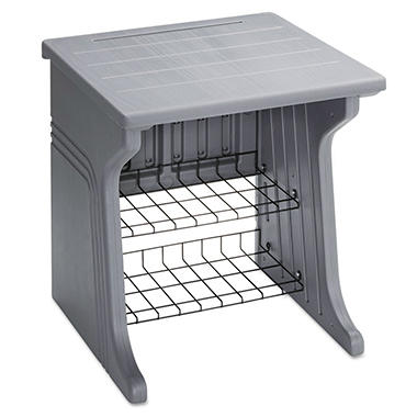 Aspira™ Printer Stand - Charcoal Gray