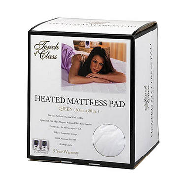 Touch of Class Heated Mattress Pad - Queen