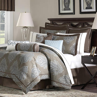 Hennessey Comforter Set - King - 20 pc.