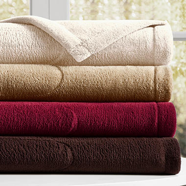 Plush Heated Throw - 50