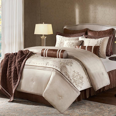 Brussels 12-piece Comforter Set With Coverlet - King